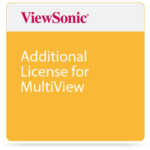 ViewSonic Additional License for MultiView