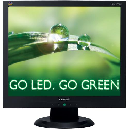 "ViewSonic VA705-LED 17"" LED Backlit TFT Monitor"