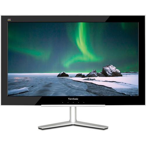 "ViewSonic VX2460H-LED 23.6"" Ultra-Thin Widescreen LCD Computer Display"