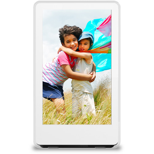 "ViewSonic 6"" Ultra Slim Digital Photo Frame (White)"