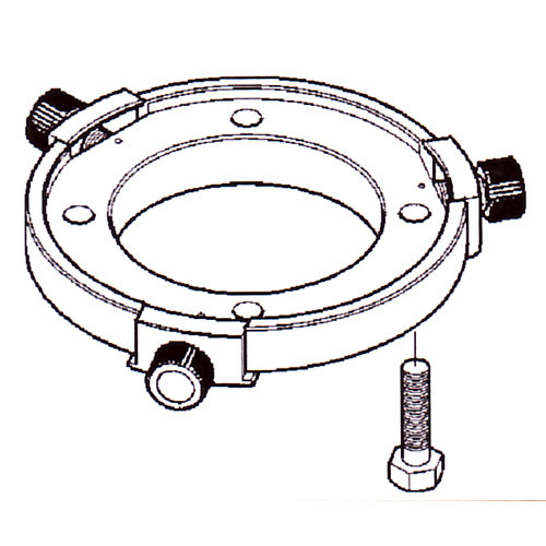 Vinten 3100-3 Quickfix Adapter with 4-Hole Flat Base