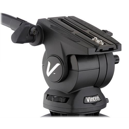 Vinten V10AS-AP2M Vision Pozi-Loc Aluminum Tripod System (Black)