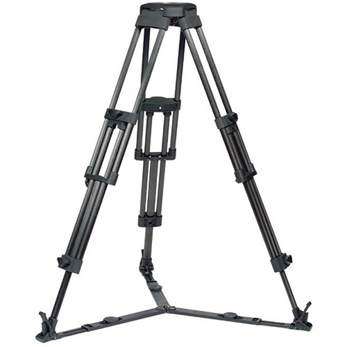 Vinten 3880-3 Two-Stage Aluminum Pozi-Loc EFP Tripod - 100mm Bowl (Black)