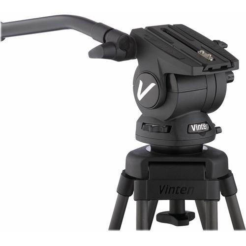 Vinten V8AS-CP1M Vision Pozi-Loc Carbon Fiber Tripod System (Black)