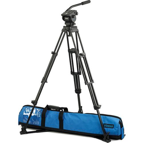 Vinten VB-AP2F Vision blue Fluid Head & Pozi-Lock Tripod System with Floor Spreader
