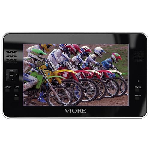 """Viore PLC7V96 7"""" Portable LCD Television"""