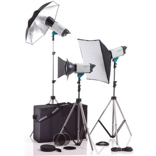 Visatec Logos 308 800 3-Monolight Kit (100-240V)