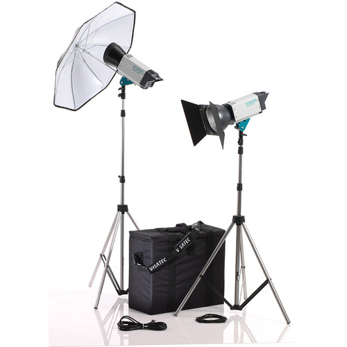 Visatec Logos 1600 2-Light Kit (100 - 240VAC)