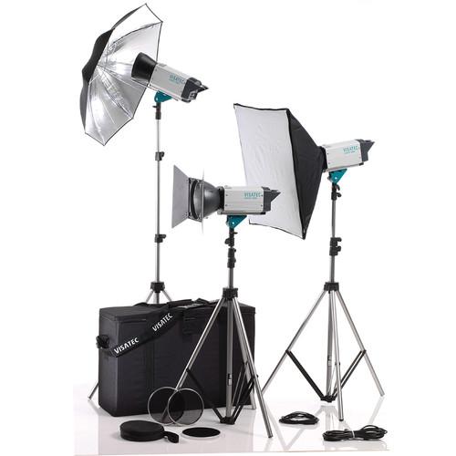 Visatec Logos 316 1600 3-Monolight Kit (100-240V)
