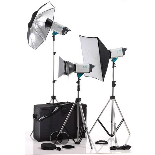 Visatec Logos 316 1600 RFS 3-Monolight Kit (110-240VAC)