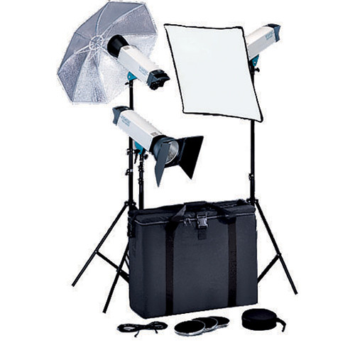 Visatec Solo Kit 332 3-Monolight Lighting Kit