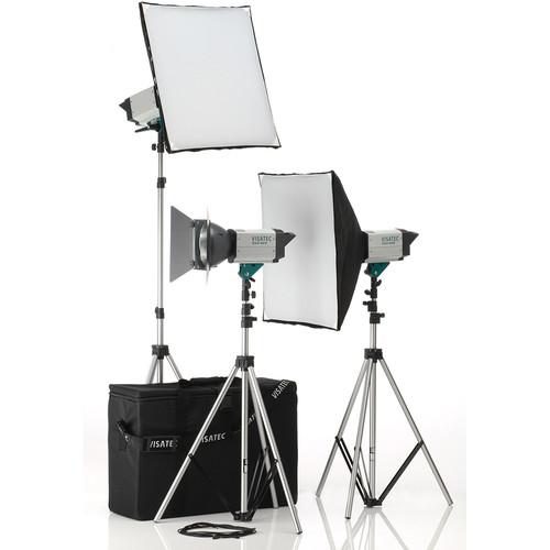 Visatec Solo 304 Three Monolight Kit (120VAC)