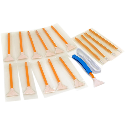 VisibleDust Swabs for 1.6x Sensor - Orange Series (12-Pack)