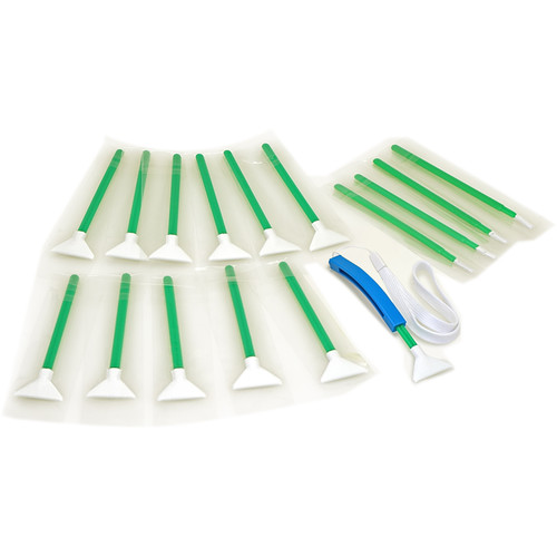 VisibleDust Swabs for 1.5-1.6x Sensor - Green Series (12-Pack)