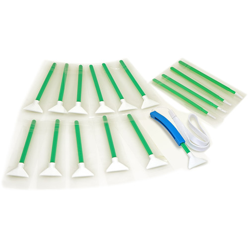 VisibleDust UltraMXD-Vswab 1.0x - Green Series (12-Pack)