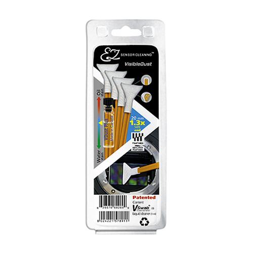 VisibleDust EZ Sensor Cleaning Kit with VDust Plus and 4 Orange 1.3x Vswabs