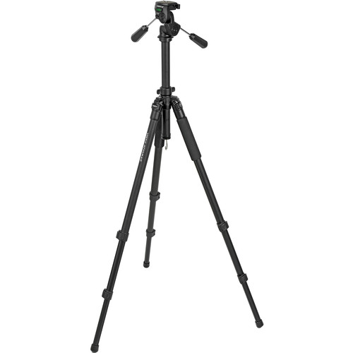 Vista by Davis & Sanford Attaras Grounder Tripod with 3-Way Pan/Tilt Head