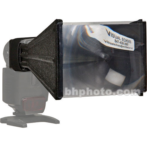 Visual Echoes FX4 Better Beamer Flash Extender for Use with Telephoto Lenses - for Nikon SB-800 & SB-600