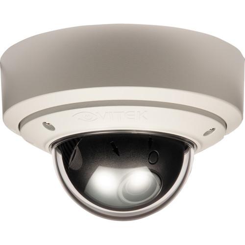 Vitek Pixim-Powered Vandal-resistant WDR Mighty Dome Camera (2.8-10mm)