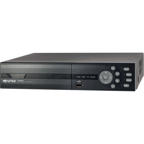Vitek VT-EHL4 4-Channel H.264 Digital Video Recorder (500 GB)