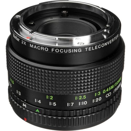 Vivitar 2X Macro Teleconverter for Canon FD