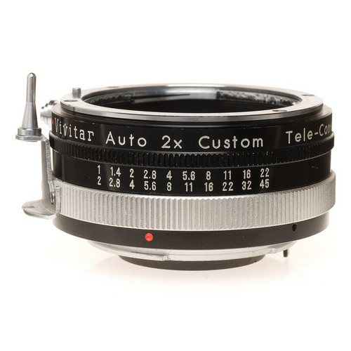 Vivitar 2X Manual Focus Teleconverter for Nikon Non-AI with Prong
