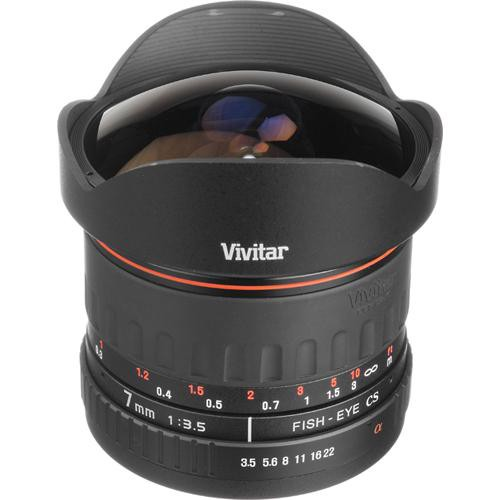 Vivitar 7mm f/3.5 Series 1 Fisheye Manual Focus Lens for Sony/Minolta Mount