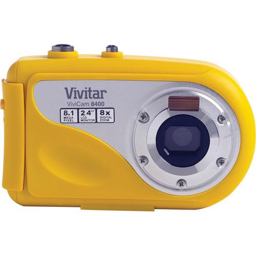 Vivitar ViviCam 8400 Digital Camera (Yellow)