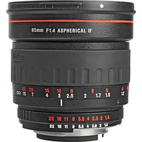 Vivitar 85mm f/1.4 Series 1 Manual Focus Lens