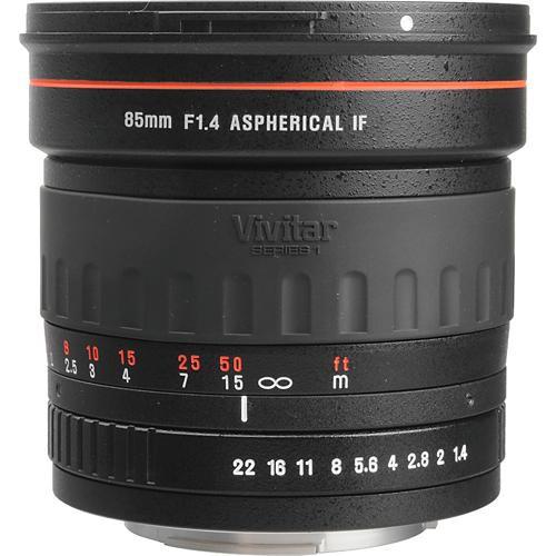 Vivitar 85mm f/1.4 Series 1 Manual Focus Lens for Sony Alpha & Minolta Maxxum