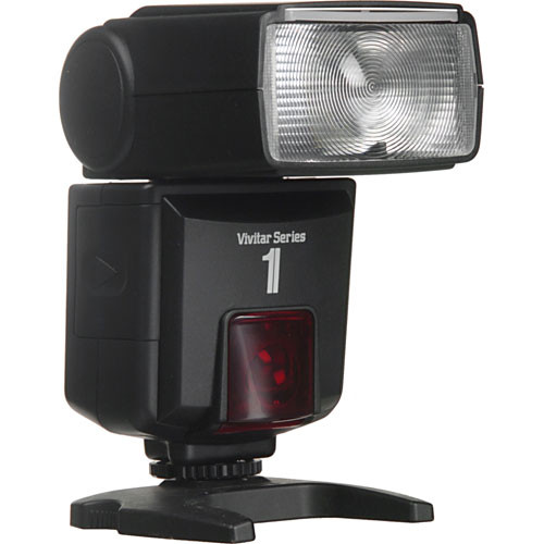 Vivitar DF400MZ Digital TTL Shoe Mount Flash for Canon E-TTL II