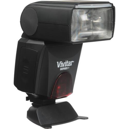 Vivitar DF-483 Wireless TTL LCD Flash for Canon Cameras