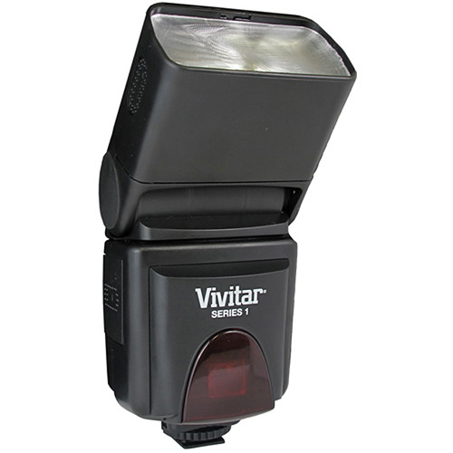 Vivitar DF-293 Bounce Zoom Swivel Flash for Olympus
