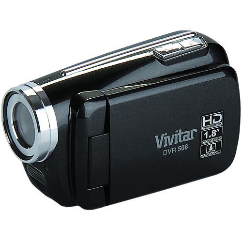 Vivitar DVR 508NHD Digital Video Recorder (Black)