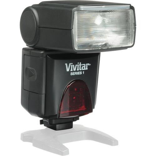 Vivitar DF-383 Series 1 Power Zoom AF Flash Kit for Canon Cameras