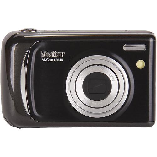 Vivitar Vivicam T324N Digital Camera (Black)