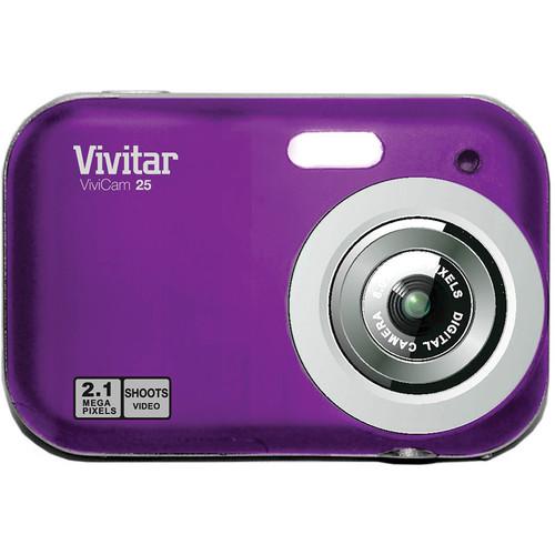 Vivitar ViviCam V25 Digital Camera (Grape)