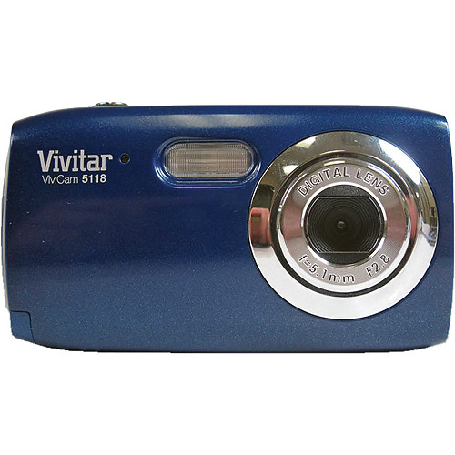 Vivitar ViviCam 5118 Digital Camera (Blue)
