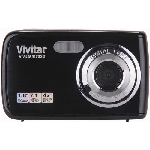 Vivitar ViviCam 7022 Digital Camera (Black)