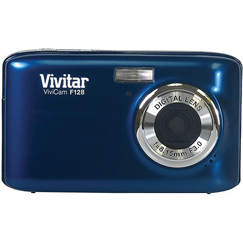 Vivitar ViviCam F128 Digital Camera (Blue)