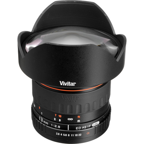 Vivitar Series 1 13mm f/2.8 Ultra Wide Aspherical Lens (Manual Focus)