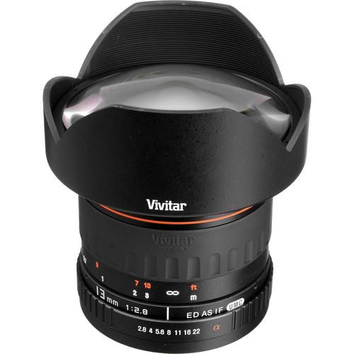 Vivitar Series 1 13mm f/2.8 Ultra Wide Aspherical Lens (Manual Focus)