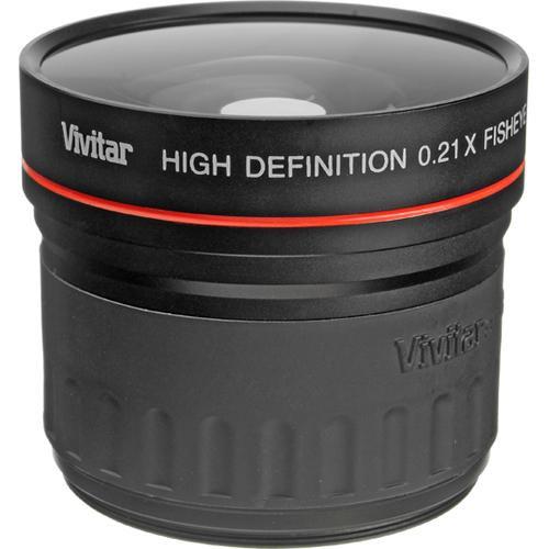 Vivitar 21-58W 0.21x Wide Angle Fisheye Conversion Lens