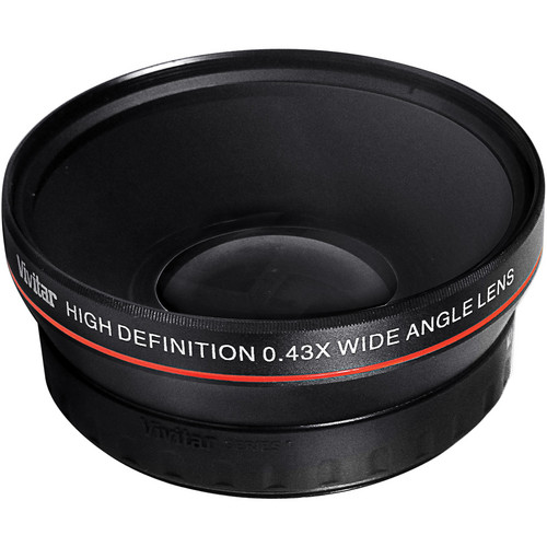 Vivitar .43x Wide Angle Lens Attachment for 72mm Filter Thread