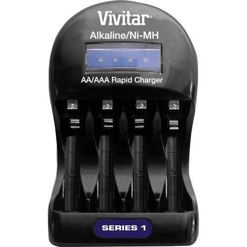 Vivitar BC-ALK Series 1 Alkaline/NiMH Battery Charger