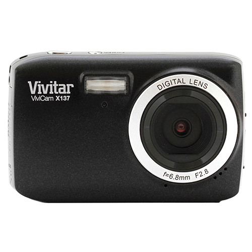 Vivitar ViviCam X137 Digital Camera (Black)