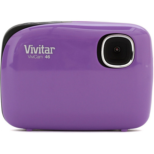 Vivitar ViviCam 46 Digital Camera (Purple)