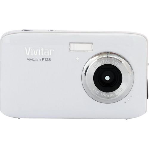 Vivitar ViviCam F128 Digital Camera (Silver)