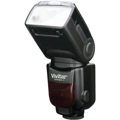 Vivitar DF-583 Power Zoom TTL Flash for Canon Cameras