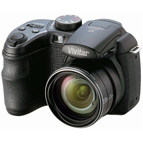 Vivitar ViviCam S1527 Digital Camera (Black)